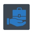 Accounting Icon from Commerce Buttons OverColor vector image