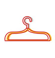 nice clothes hanger object design vector image