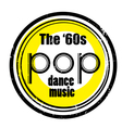pop dance music vector image vector image
