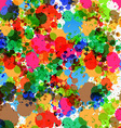 Colorful Splashes - Blots Background vector image