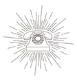 old telephone poster isolated icon design vector image
