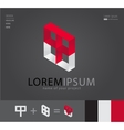 Business abstract corporate icon logo template vector image
