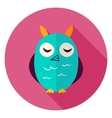 Owl Circle Icon vector image