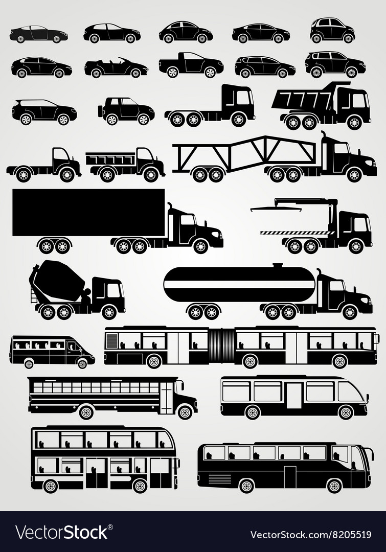 Transport and vehicle set vector