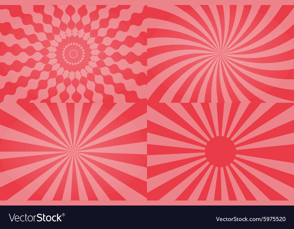 Sun sunburst pattern vector