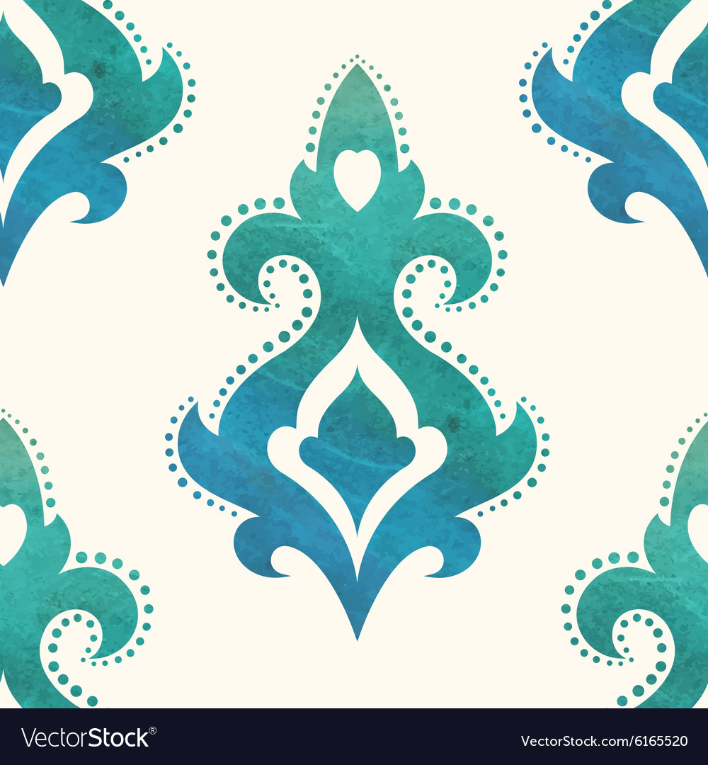 Watercolor seamless pattern can be used for vector
