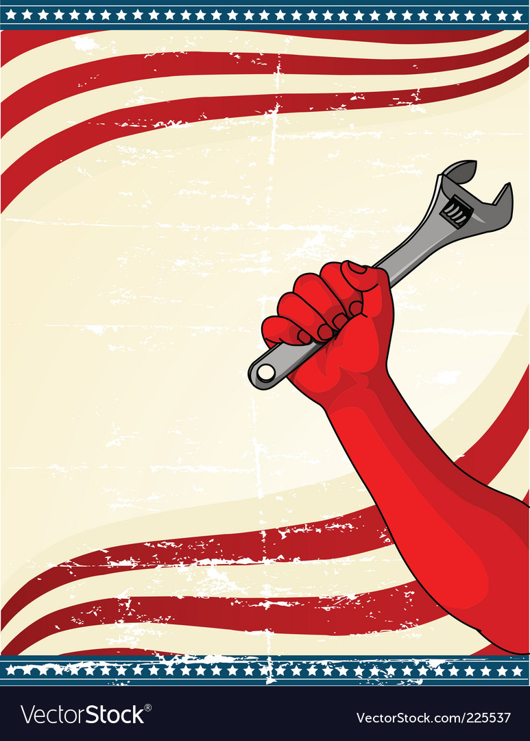 Labor day icon vector