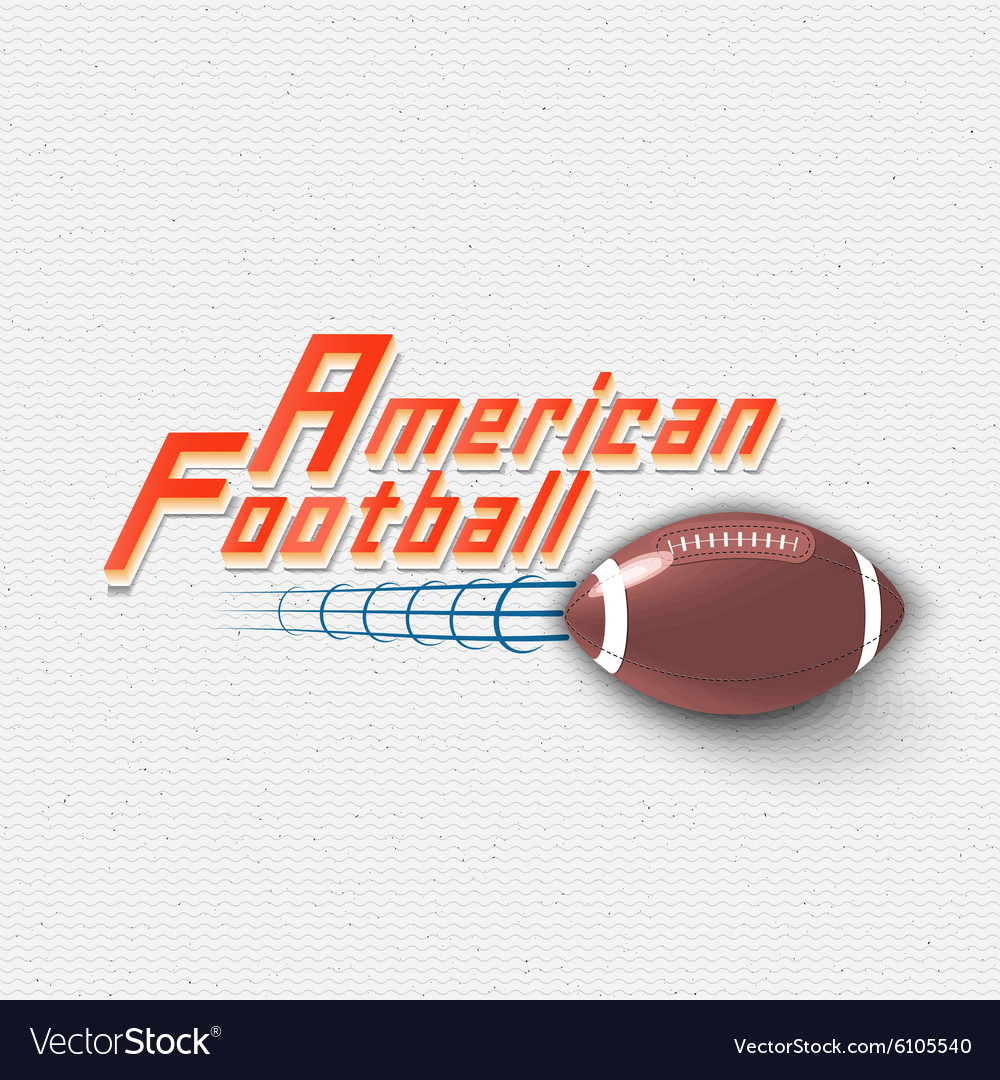 American football badges logos and labels for any vector