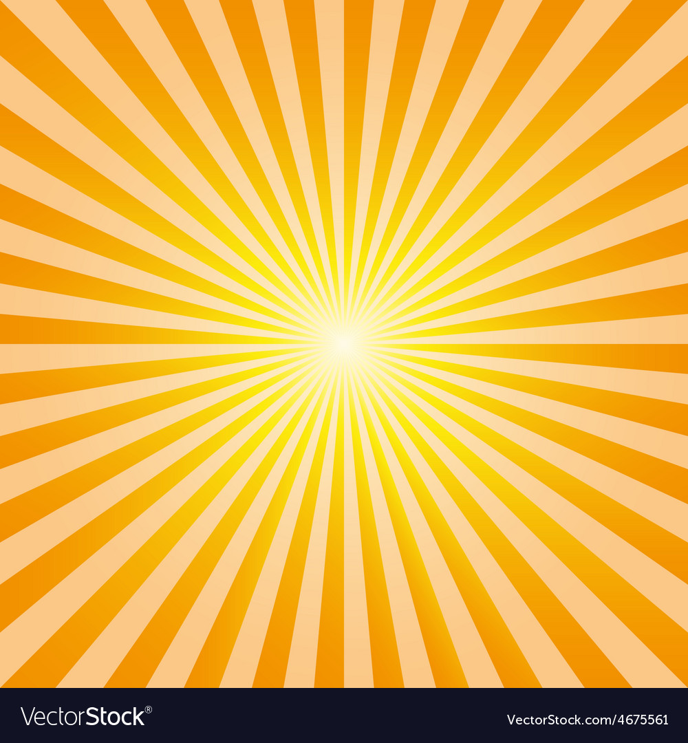 Vintage abstract background explosion sun rays vec vector