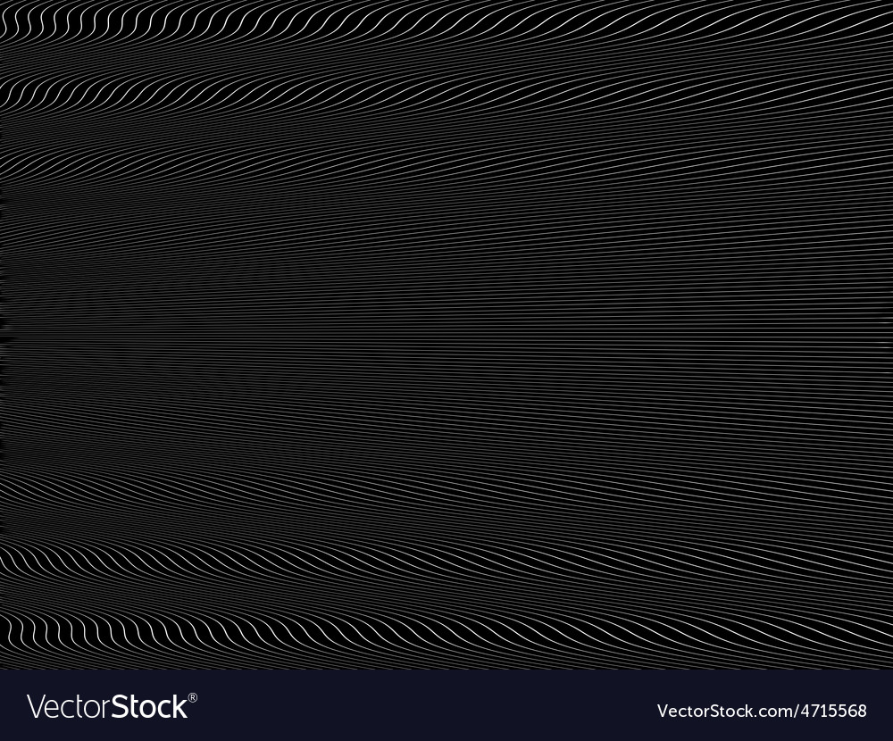 Abstract stylized lines vector