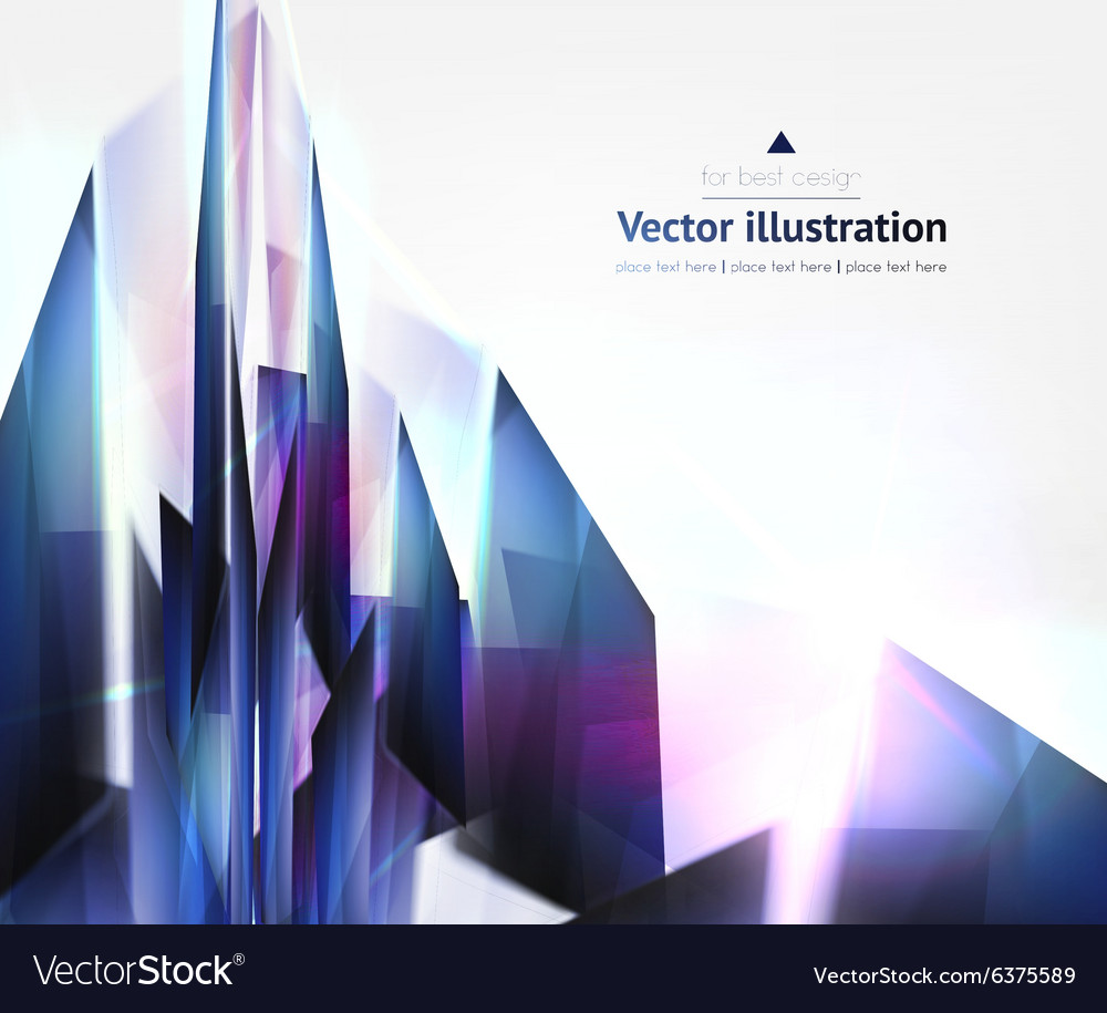 Hi tech abstract blue background vector