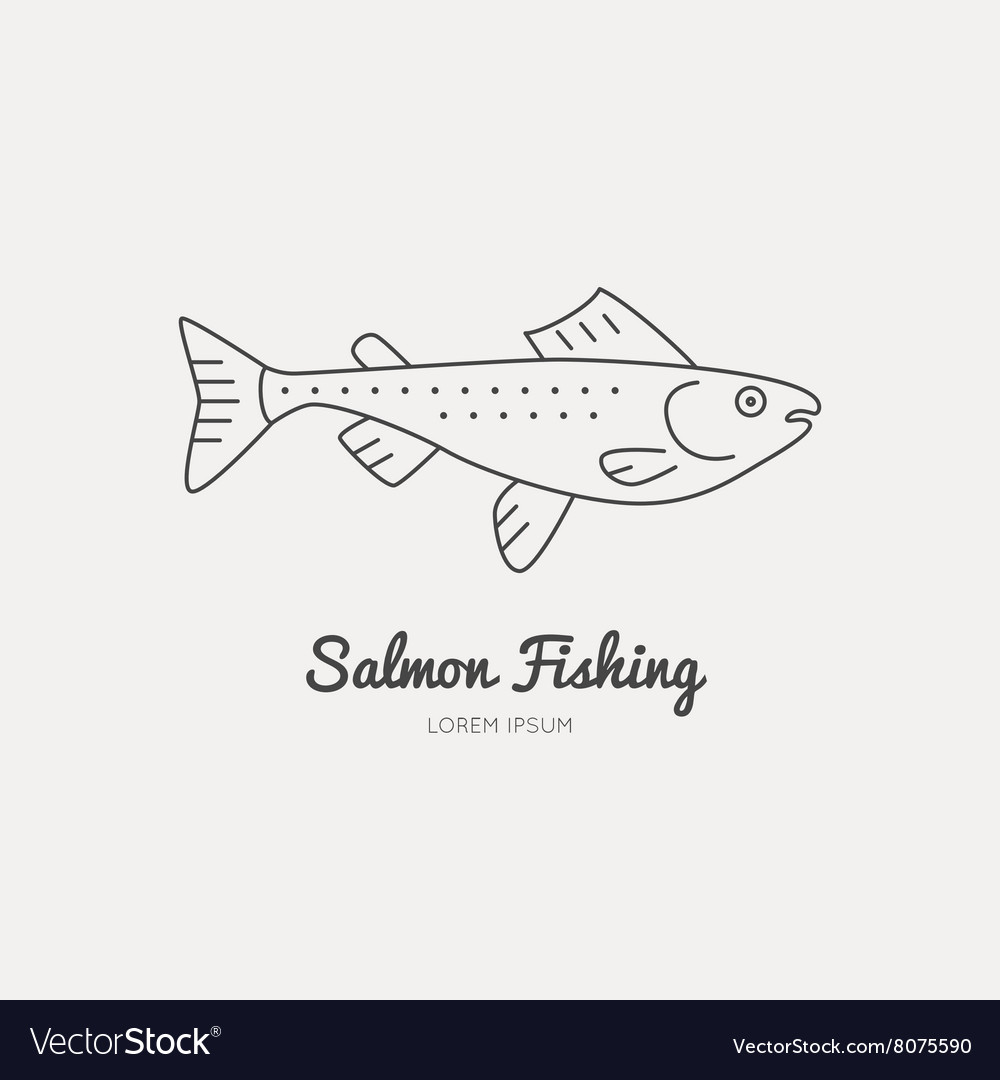 Fishing gear vector