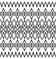 ethnic black texture vector image