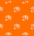 eye of horus egypt deity pattern seamless vector image