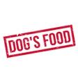 Dog Food rubber stamp vector image