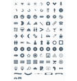 signs symbols and pictograms vector image vector image