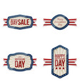 independence day greeting banners set vector image