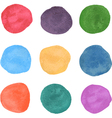 Watercolor swatches vector image