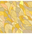 Mosaic pattern with branch silhouettes vector image vector image