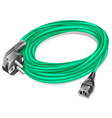 power cable vector image