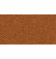 seamless brick masonry vector image