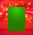 Bright and sparkling Christmas page layout with vector image