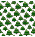 christmas seamless pattern green wrapping texture vector image