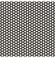 Seamless Black and White Mosaic Squares vector image