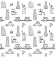 new york city seamless pattern vector image
