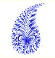 floral decorative ornament vector image