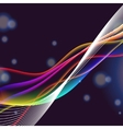 dinamyc flow stylized waves vector image vector image