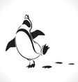 penguin 5 vector image