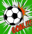 Goal vector image
