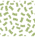 Falling Money Flat Design vector image