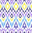 Ikat pattern vector image