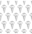 ice cream easy pattern linear-12 vector image