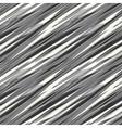 broken striped background vector image vector image
