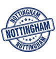 nottingham stamp vector image