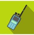 Military radio flat icon vector image