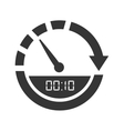 Time and clock theme design vector image