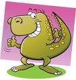 Cartoon Tyrannosaurus Rex vector image