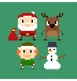 171016 1550 pixel christmas vector image