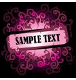 scroll background vector image vector image