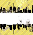 urban grunge design vector image vector image