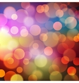 Abstract Golden Holiday Background bokeh effect vector image