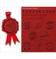 06 Wax Shield Tax Free Sales vector image