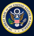 The Great Seal of the US vector image