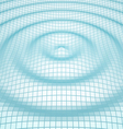 Abstract mosaic 3d amplitude waves vector image