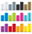 soda cans vector image