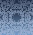floral dark blue design background vector image